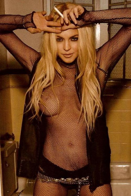 Lindsay Lohan catfight