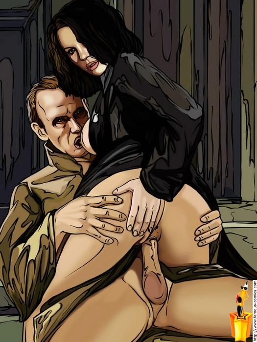 Порно комикс другой мир